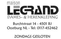 Maison Legrand Logo Oostburg