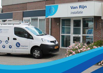 van Rijn installatie